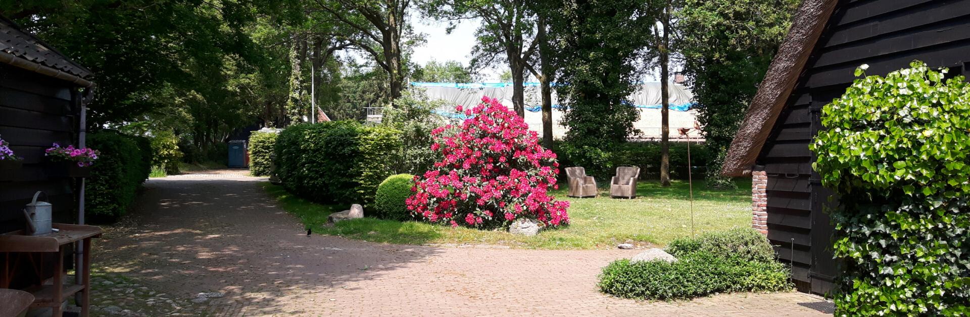 Het Eursingerhof Achtertuin